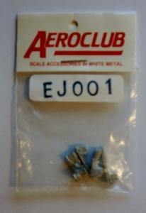 AEROCLUB 1/72 EJ001 MK-2 EJECTION SEATS