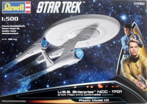 REVELL 1/500 04882 STAR TREK INTO DARKNESS USS ENTERPRISE NCC-1701