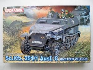 DRAGON 1/35 6246 Sd.Kfz.251/1 Ausf.C RIVETTED VERSION