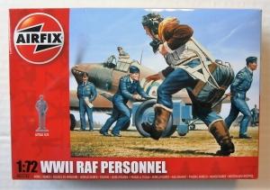 AIRFIX 1/72 01747 WWII RAF PERSONNEL