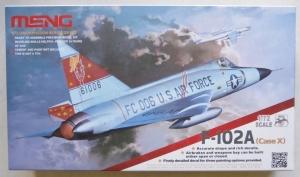 MENG 1/72 DS-003 F-102A  CASE X