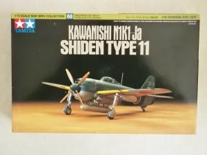 TAMIYA 1/72 60768 KAWANISHI N1K1-Ja SHIDEN TYPE 11