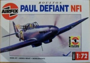 AIRFIX 1/72 01031 BOULTON PAUL DEFIANT NF.I