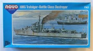 NOVO  F143 HMS TRAFALGAR BATTLE CLASS DESTROYER 1/325