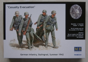 MASTERBOX 1/35 3541 CASUALTY EVACUATION GERMAN INFANTRY STALINGRAD SUMMER 1942