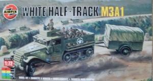AIRFIX 1/72 02318 WHITE M3A1 HALF TRACK