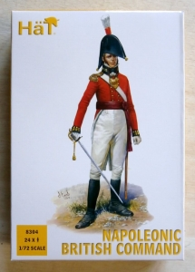 HAT INDUSTRIES 1/72 8304 NAPOLEONIC BRITISH COMMAND