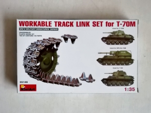 MINIART 1/35 35146 WORKABLE TRACK LINK SET FOR T-70M