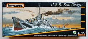 MATCHBOX 1/700 40163 USS SAN DIEGO