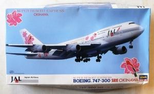 HASEGAWA 1/200 LT107 BOEING 747-300 SRE OKINAWA JAL