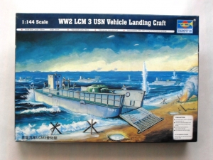 TRUMPETER 1/144 00102 LCM 3  USN VEHICLE LANDING CRAFT