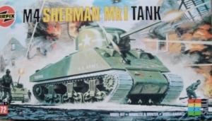 AIRFIX 1/72 01303 M4 SHERMAN Mk.I TANK