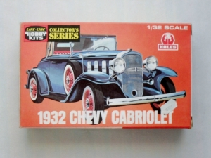 LIFELIKE 1/32 C291 1932 CHEVY CABRIOLET