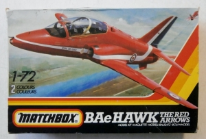 MATCHBOX 1/72 PK-27 HAWK T.Mk.1 THE RED ARROWS /T.Mk.51