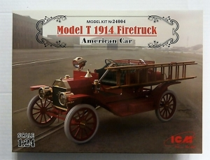 ICM 1/24 24004 MODEL T 1914 FIRETRUCK