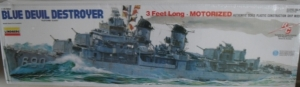 LINDBERG  70815 BLUE DEVIL DESTROYER  UK SALE ONLY  1/125