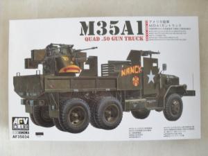 AFV CLUB 1/35 35034 M35A1 VIETNAM GUN TRUCK