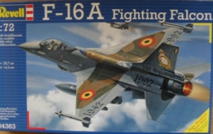 REVELL 1/72 04363 F-16A FIGHTING FALCON