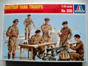 ITALERI 1/35 308 BRITISH TANK TROOPS