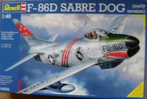 REVELL 1/48 04502 F-86D SABRE DOG EARLY VERSION