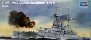 TRUMPETER 1/700 05797 HMS QUEEN ELIZABETH 1918