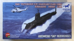 BRONCO 1/350 5015 HMS VICTORIOUS S-29 VANGUARD CLASS SUBMARINE