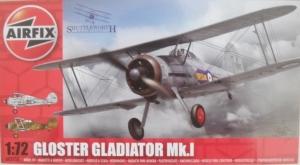 AIRFIX 1/72 02052 GLOSTER GLADIATOR Mk.I