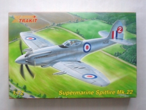 XTRAKIT 1/72 72014 SUPERMARINE SPITFIRE Mk.22