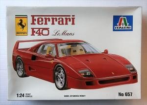 ITALERI 1/24 657 FERRARI F40