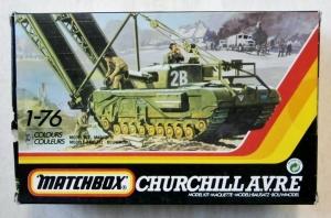 MATCHBOX 1/76 40177 CHURCHILL A.V.R.E