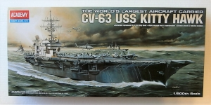 ACADEMY 1/800 14210 USS KITTY HAWK CV-63
