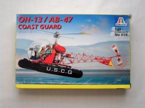 ITALERI 1/48 859 OH-13/AB-47 COASTGUARD