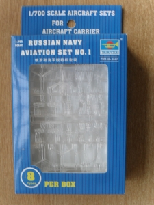 TRUMPETER 1/700 03417 RUSSIAN NAVAL AVIATION SET 1