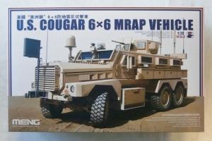 MENG 1/35 SS-005 US COUGAR 6 x 6 MRAP VEHICLE