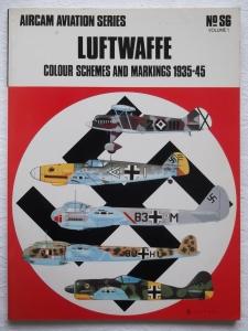 AIRCAMS  S6. LUFTWAFFE COLOUR SCHEMES 1935-45 VOL 1
