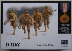 MASTERBOX 1/35 3520 US RANGERS D-DAY