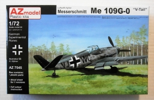 AZ MODEL 1/72 7545 MESSERSCHMITT Bf 109G-0 V-TAIL