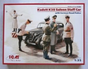 ICM 1/35 35480 KADETT K38 SALOON STAFF CAR