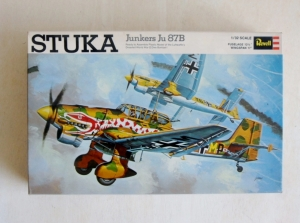 REVELL 1/32 H298 JUNKERS Ju 87B STUKA