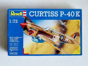 REVELL 1/72 04122 CURTISS P-40K