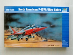TRUMPETER 1/72 01605 NORTH AMERICAN F-107A ULTRA SABRE