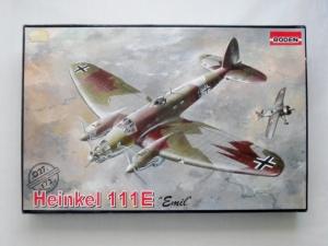 RODEN 1/72 027 HEINKEL He 111E