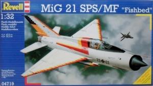REVELL 1/32 04719 MiG 21 SPS/MF FISHBED