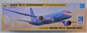 ZVEZDA 1/144 7021 BOEING 787-9 DREAMLINER