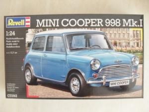 REVELL 1/24 07092 MINI COOPER 998 Mk.I