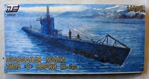 RUSSIAN MAKE 1/400 K4002 RUSSIAN SUBMARINE