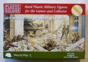 PLASTIC SOLDIER 1/72 WW2020002 LATE WAR BRITISH INFANTRY 1944-45