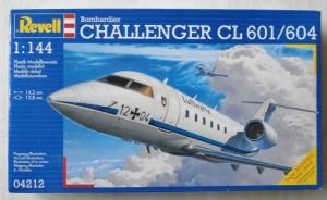 REVELL 1/144 04212 BOMBADIER CHALLENGER CL601/604
