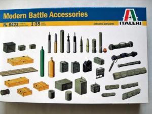 ITALERI 1/35 6423 MODERN BATTLE ACCESSORIES