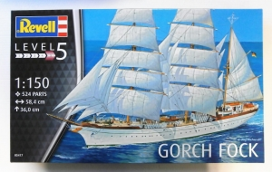 REVELL 1/150 05417 GORCH FOCK  UK SALE ONLY
